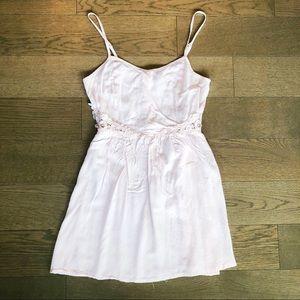 H&M Divided Light Pink Sleeveless Dress